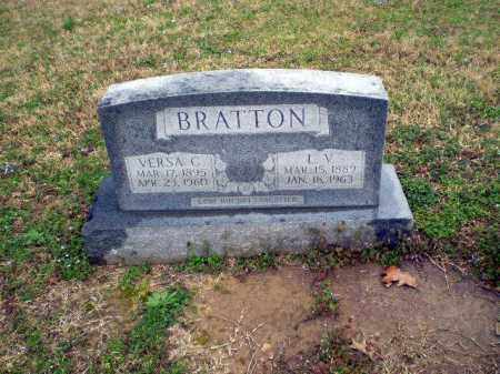 BRATTON, VERSA - Craighead County, Arkansas | VERSA BRATTON - Arkansas Gravestone Photos