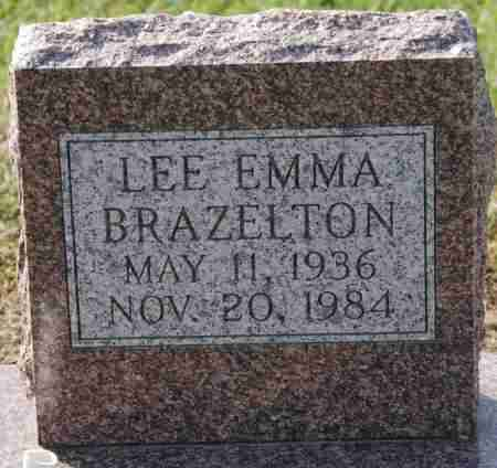 BRAZELTON, LEE EMMA - Craighead County, Arkansas | LEE EMMA BRAZELTON - Arkansas Gravestone Photos