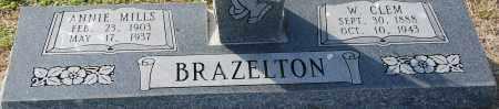 BRAZELTON, W. CLEM - Craighead County, Arkansas | W. CLEM BRAZELTON - Arkansas Gravestone Photos