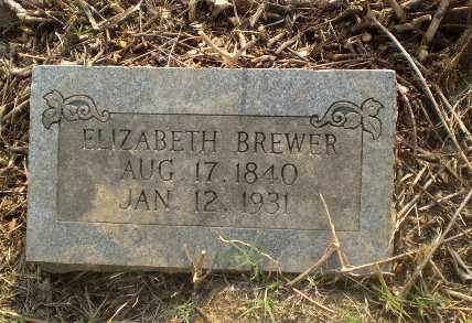BREWER, ELIZABETH - Craighead County, Arkansas | ELIZABETH BREWER - Arkansas Gravestone Photos
