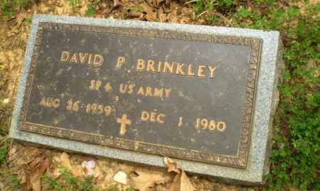 BRINKLEY (VETERAN), DAVID P - Craighead County, Arkansas | DAVID P BRINKLEY (VETERAN) - Arkansas Gravestone Photos