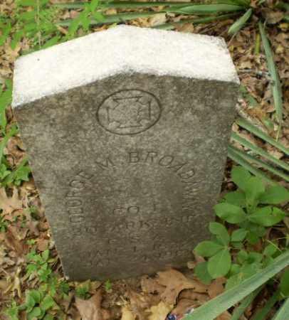 BROADAWAY  (VETERAN CSA), GEORGE M - Craighead County, Arkansas   GEORGE M BROADAWAY  (VETERAN CSA) - Arkansas Gravestone Photos