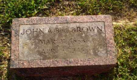 "BROWN, JOHN A ""BUD"" - Craighead County, Arkansas 