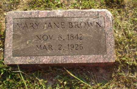 BROWN, MARY JANE - Craighead County, Arkansas | MARY JANE BROWN - Arkansas Gravestone Photos