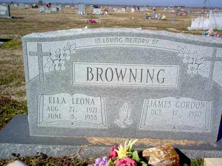 BROWNING, ELLA LEONA - Craighead County, Arkansas | ELLA LEONA BROWNING - Arkansas Gravestone Photos