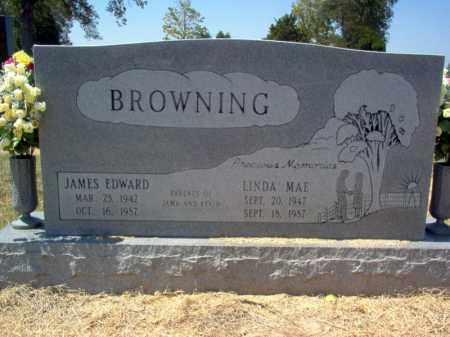 BROWNING, JAMES EDWARD - Craighead County, Arkansas | JAMES EDWARD BROWNING - Arkansas Gravestone Photos