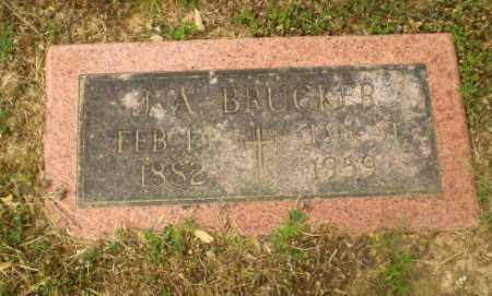BRUCKER, J.A. - Craighead County, Arkansas | J.A. BRUCKER - Arkansas Gravestone Photos