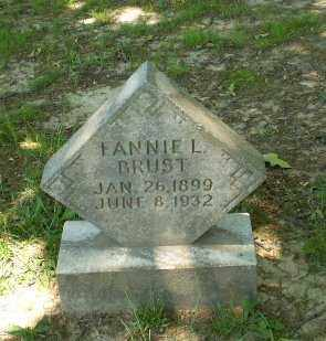 BRUST, FANNIE L. - Craighead County, Arkansas | FANNIE L. BRUST - Arkansas Gravestone Photos