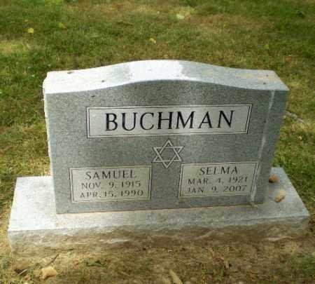 SAMUELS BUCHMAN, SELMA - Craighead County, Arkansas | SELMA SAMUELS BUCHMAN - Arkansas Gravestone Photos