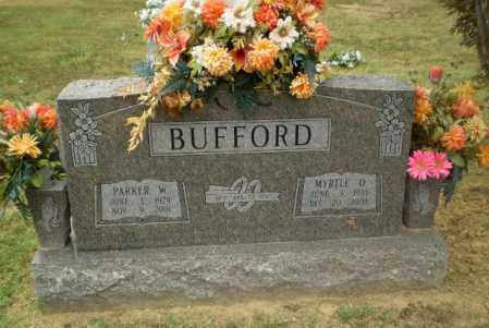 BUFFORD, PARKER W - Craighead County, Arkansas | PARKER W BUFFORD - Arkansas Gravestone Photos