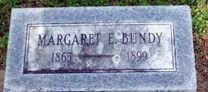 BUNDY, MARGARET E - Craighead County, Arkansas | MARGARET E BUNDY - Arkansas Gravestone Photos