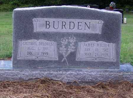 BURDEN, JAMES MILLER - Craighead County, Arkansas | JAMES MILLER BURDEN - Arkansas Gravestone Photos