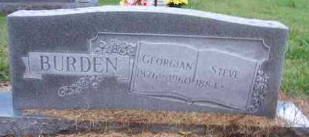 BURDEN, GEORGIAN - Craighead County, Arkansas | GEORGIAN BURDEN - Arkansas Gravestone Photos