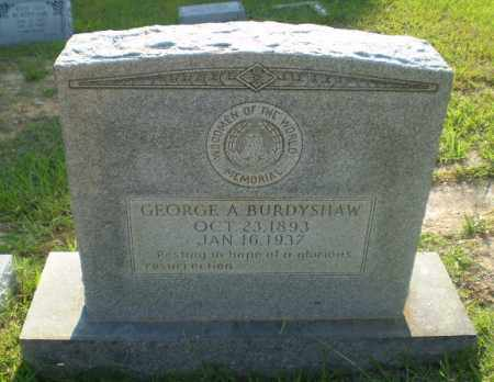 BURDYSHAW, GEORGE A - Craighead County, Arkansas | GEORGE A BURDYSHAW - Arkansas Gravestone Photos