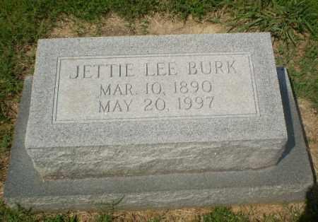 BURK, JETTIE LEE - Craighead County, Arkansas | JETTIE LEE BURK - Arkansas Gravestone Photos