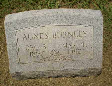 BURNLEY, AGNES - Craighead County, Arkansas | AGNES BURNLEY - Arkansas Gravestone Photos