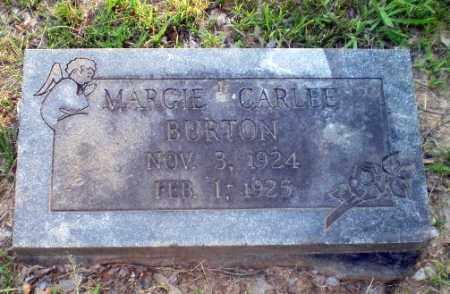 BURTON, MARGIE CARLEE - Craighead County, Arkansas | MARGIE CARLEE BURTON - Arkansas Gravestone Photos