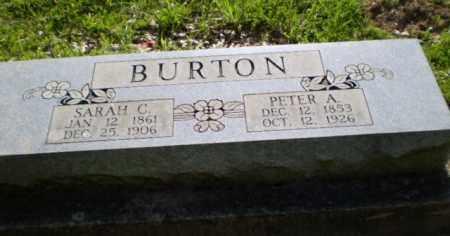BURTON, PETER A - Craighead County, Arkansas | PETER A BURTON - Arkansas Gravestone Photos