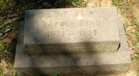 BYRD, WAYMON (INFANT) - Craighead County, Arkansas | WAYMON (INFANT) BYRD - Arkansas Gravestone Photos
