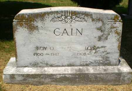 CAIN, ROY O. - Craighead County, Arkansas | ROY O. CAIN - Arkansas Gravestone Photos
