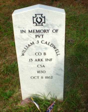 CALDWELL  (VETERAN CSA,KIA), WILLIAM J - Craighead County, Arkansas | WILLIAM J CALDWELL  (VETERAN CSA,KIA) - Arkansas Gravestone Photos