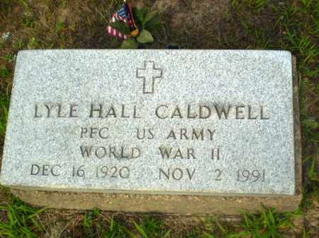 CALDWELL  (VETERAN WWII), LYLE HALL - Craighead County, Arkansas | LYLE HALL CALDWELL  (VETERAN WWII) - Arkansas Gravestone Photos
