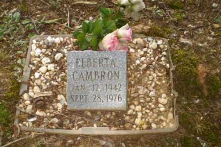 CAMBRON, ELBERTA - Craighead County, Arkansas | ELBERTA CAMBRON - Arkansas Gravestone Photos