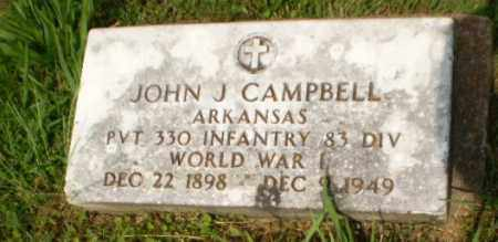 CAMPBELL  (VETERAN WWI), JOHN J - Craighead County, Arkansas | JOHN J CAMPBELL  (VETERAN WWI) - Arkansas Gravestone Photos