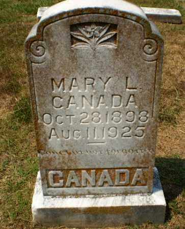 CANADA, MARY L - Craighead County, Arkansas | MARY L CANADA - Arkansas Gravestone Photos