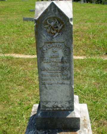 CANTRELL, S.O. - Craighead County, Arkansas | S.O. CANTRELL - Arkansas Gravestone Photos