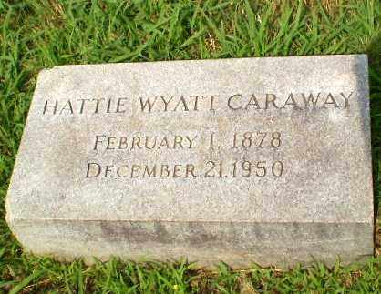 CARAWAY (FAMOUS), HATTIE OPHELIA - Craighead County, Arkansas | HATTIE OPHELIA CARAWAY (FAMOUS) - Arkansas Gravestone Photos