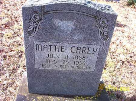CAREY, MATTIE - Craighead County, Arkansas | MATTIE CAREY - Arkansas Gravestone Photos