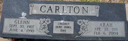 CARLTON, ARAH - Craighead County, Arkansas | ARAH CARLTON - Arkansas Gravestone Photos