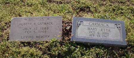 WOOD CARMACK, MARY ETTA - Craighead County, Arkansas | MARY ETTA WOOD CARMACK - Arkansas Gravestone Photos