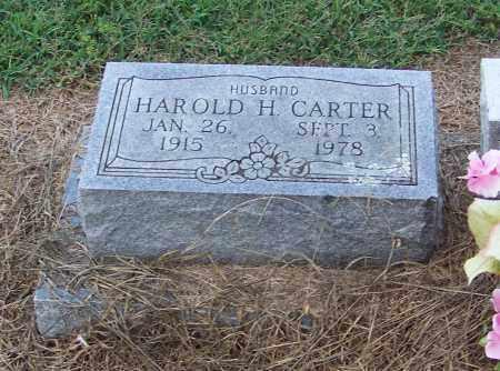 CARTER, HAROLD H. - Craighead County, Arkansas | HAROLD H. CARTER - Arkansas Gravestone Photos