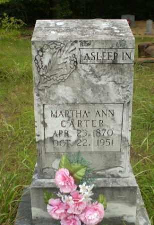CARTER, MARTHA ANN - Craighead County, Arkansas | MARTHA ANN CARTER - Arkansas Gravestone Photos