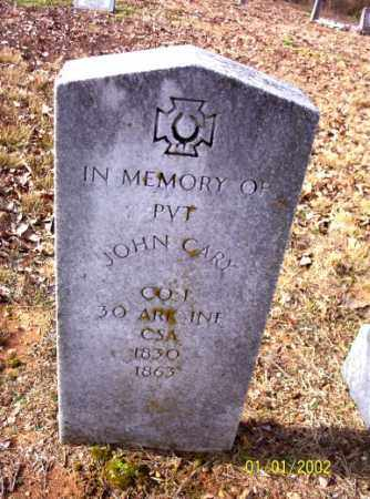 CARY (VETERAN CSA), JOHN - Craighead County, Arkansas | JOHN CARY (VETERAN CSA) - Arkansas Gravestone Photos