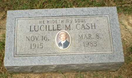 CASH, LUCILLE M - Craighead County, Arkansas | LUCILLE M CASH - Arkansas Gravestone Photos