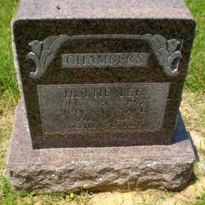 LEE CHAMBERS, HETTIE - Craighead County, Arkansas | HETTIE LEE CHAMBERS - Arkansas Gravestone Photos