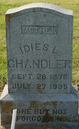 CHANDLER, IDIES L - Craighead County, Arkansas | IDIES L CHANDLER - Arkansas Gravestone Photos