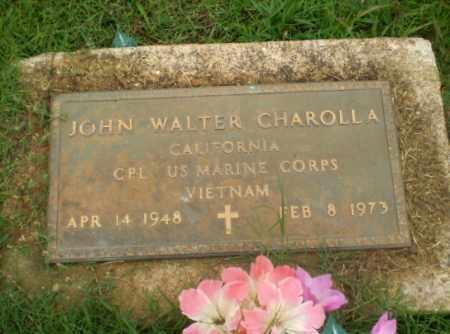 CHAROLLA  (VETERAN VIET), JOHN WALTER - Craighead County, Arkansas | JOHN WALTER CHAROLLA  (VETERAN VIET) - Arkansas Gravestone Photos