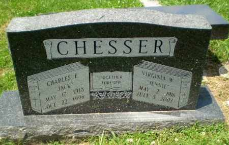 CHESSER, VIRGINIA W - Craighead County, Arkansas | VIRGINIA W CHESSER - Arkansas Gravestone Photos