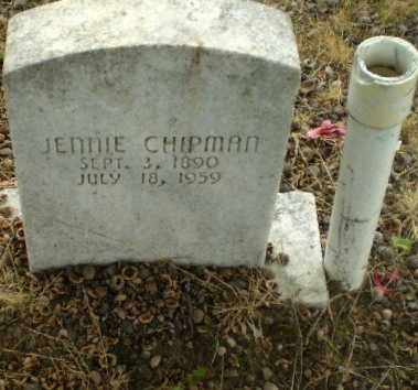 CHIPMAN, JENNIE - Craighead County, Arkansas | JENNIE CHIPMAN - Arkansas Gravestone Photos