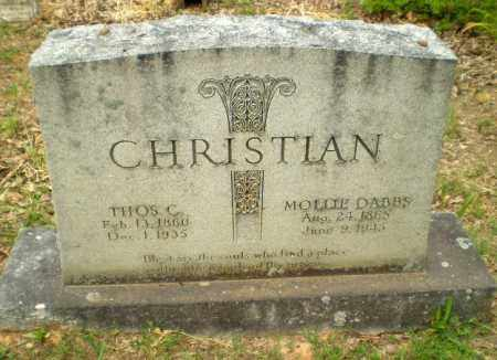 CHRISTIAN, MOLLIE - Craighead County, Arkansas | MOLLIE CHRISTIAN - Arkansas Gravestone Photos