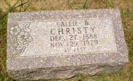 CHRISTY, CALLIE B - Craighead County, Arkansas | CALLIE B CHRISTY - Arkansas Gravestone Photos