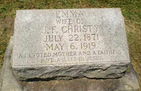 CHRISTY, EMMA - Craighead County, Arkansas | EMMA CHRISTY - Arkansas Gravestone Photos