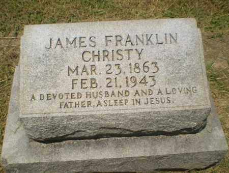 CHRISTY, JAMES FRANKLIN - Craighead County, Arkansas | JAMES FRANKLIN CHRISTY - Arkansas Gravestone Photos