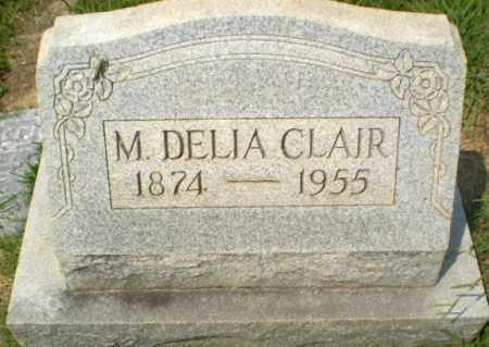 CLAIR, M.DELIA - Craighead County, Arkansas | M.DELIA CLAIR - Arkansas Gravestone Photos