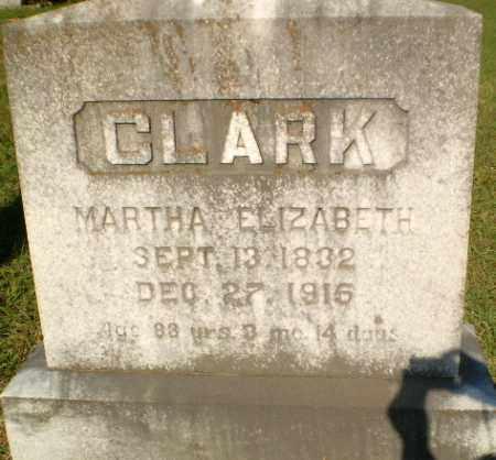 CLARK, MARTHA ELIZABETH - Craighead County, Arkansas | MARTHA ELIZABETH CLARK - Arkansas Gravestone Photos