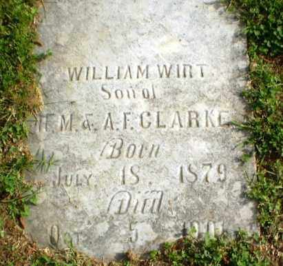 CLARKE, WILLIAMS WIRT - Craighead County, Arkansas | WILLIAMS WIRT CLARKE - Arkansas Gravestone Photos